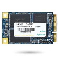 Apacer AS220 Pro Series mSATA 128GB SATA III Solid State Drive