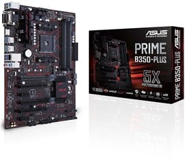 ASUS PRIME B350-PLUS AMD Socket AM4 Motherboard