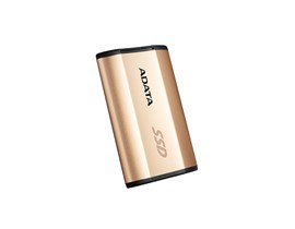 ADATA SE730 (250GB) External Solid State Drive (Gold) *Open Box*