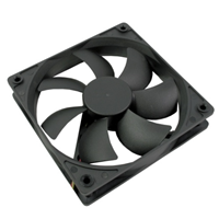 AvP Case Fan 12cm Black 3+4 Pin Connector