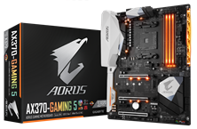 Gigabyte Aorus AX370-Gaming 5 Socket AM4 ATX Motherboard *Open Box*