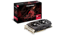 PowerColor Radeon RX 590 Red Dragon 8GB Card