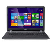 Acer Aspire ES1-512-C5YW (15.6 inch) Notebook PC Celeron (N2840) 2.16GHz 4GB 500GB DVD±RW WLAN BT Webcam Windows 8.1 with Bing (HD Graphics)