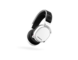 SteelSeries Arctis Pro Wireless Full-Size Bluetooth Headset (White)