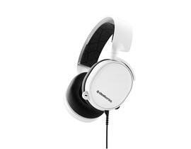 SteelSeries Arctis 3 Full-Size Headphones Bi-Directional (White)