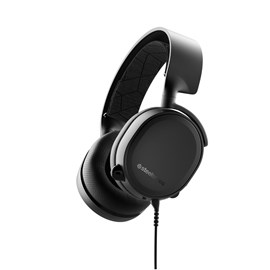 SteelSeries Arctis 3 (2019 Edition) All-Platform Gaming Headset for PC, PlayStation 4, Xbox One, Nintendo Switch, VR, Android and iOS (Black)