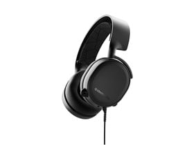 SteelSeries Arctis 3 Full-Size Headphones Bi-Directional (Black)