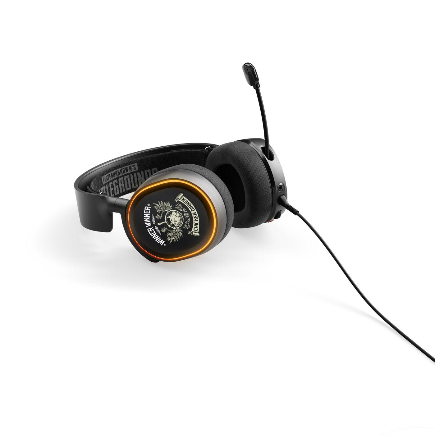 SteelSeries Arctis 5 RGB Gaming Headset Bi-Directional (PUBG Edition)