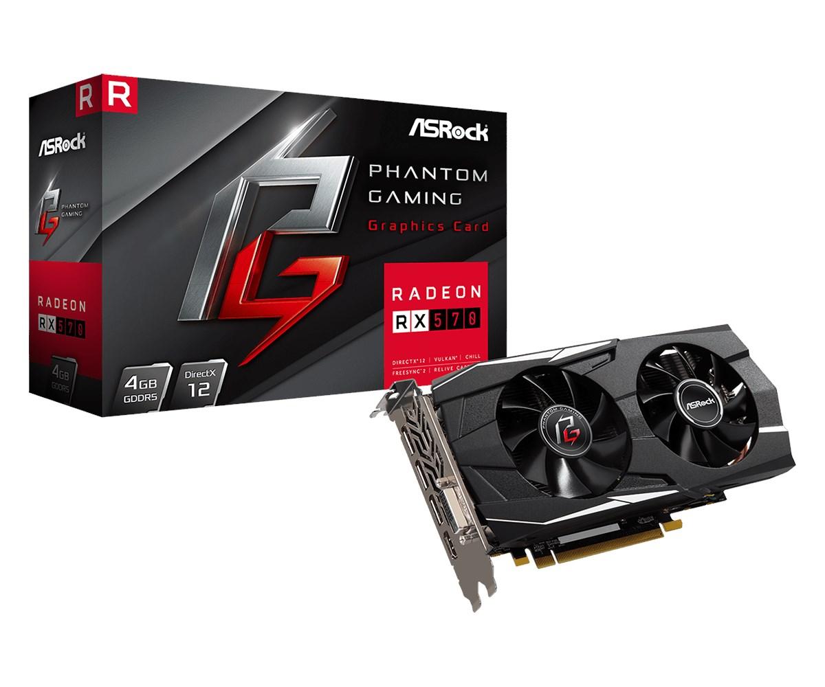 ASRock Radeon RX 570 4GB Graphics Card