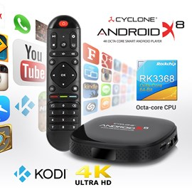 Sumvision Cyclone Android X8 4K Octa-Core Smart Android Player *Open Box*