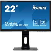 iiyama ProLite B2283HS 21.5 inch LED 1ms Monitor - Full HD, 1ms