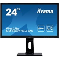iiyama ProLite B2483HSU-B5 24 inch LED 1ms Monitor - Full HD, 1ms