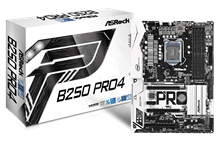 ASRock B250 Pro4 Intel Socket 1151 Motherboard
