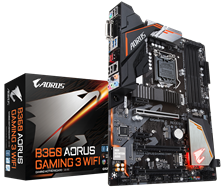 Gigabyte B360 AORUS GAMING 3 WIFI Intel