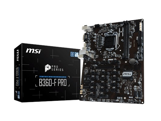 MSI B360-F PRO Intel Socket 1151 Motherboard