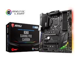 MSI B360 GAMING PRO CARBON Intel Motherboard