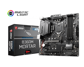 MSI B360M MORTAR Intel Socket 1151 Motherboard
