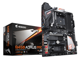 Gigabyte B450 AORUS PRO AMD Socket AM4 Motherboard