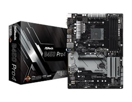 ASRock B450 Pro4 AMD Socket AM4 Motherboard