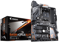 Gigabyte B450 AORUS ELITE ATX Motherboard for AMD AM4 CPUs