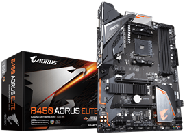 Gigabyte B450 AORUS ELITE AMD Socket AM4