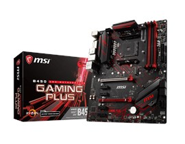 MSI B450 GAMING PLUS AMD Socket AM4 Motherboard