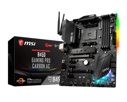 MSI B450 GAMING PRO CARBON AC AMD Motherboard