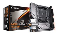 Gigabyte B450 I AORUS PRO WIFI ITX Motherboard for AMD AM4 CPUs