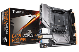 Gigabyte B450 I AORUS PRO WIFI AMD Socket AM4
