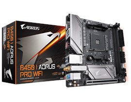 Gigabyte B450 I AORUS Pro AMD AM4 B450 Motherboard (Mini-ITX) Gigabyte LAN (Integrated Graphics) *Open Box*
