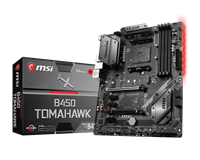 MSI B450 TOMAHAWK ATX Motherboard for AMD AM4 CPUs