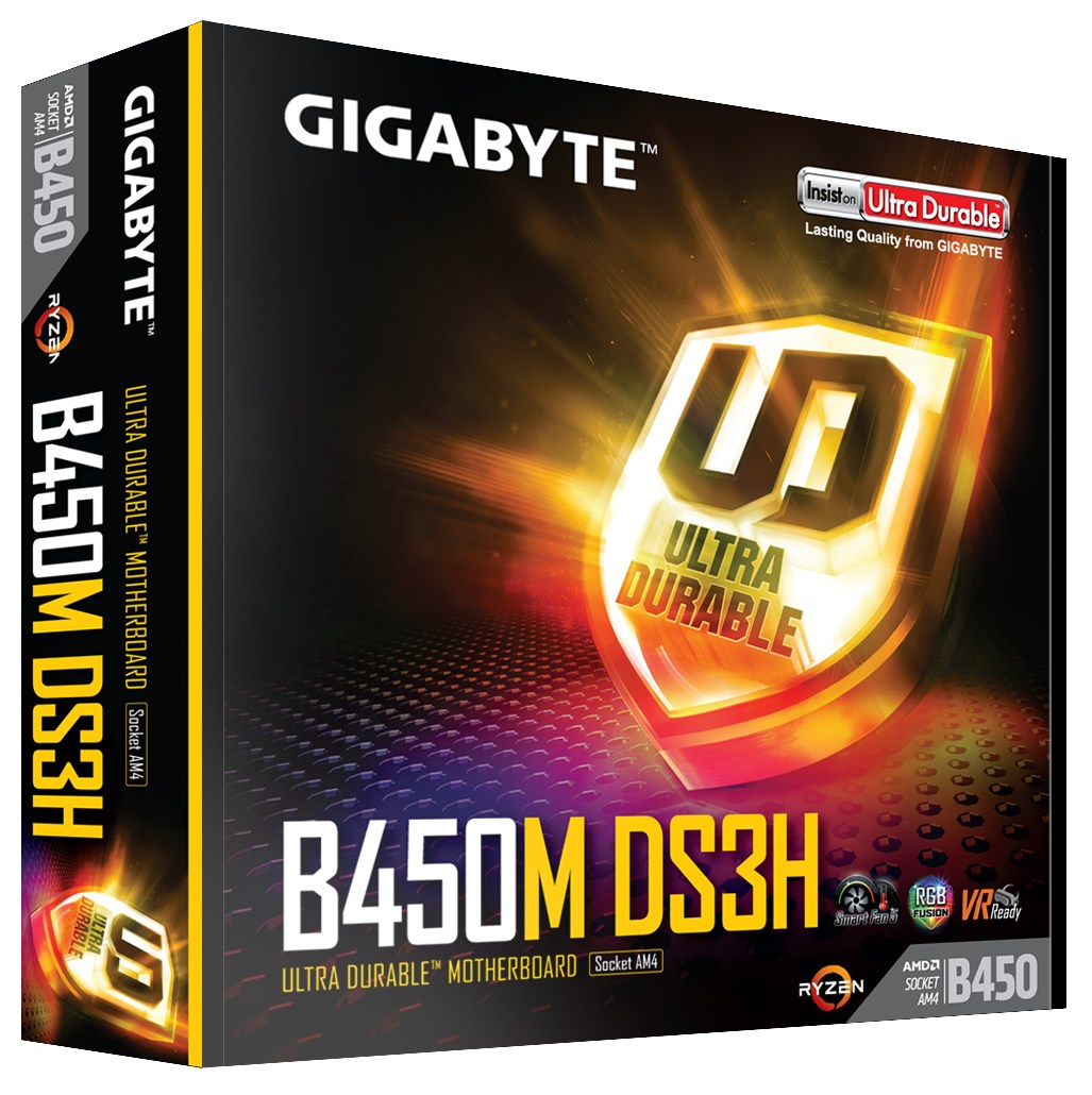 Gigabyte B450m Ds3h Troubleshooting
