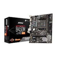 MSI B450M-A PRO MAX mATX Motherboard for AMD AM4 CPUs