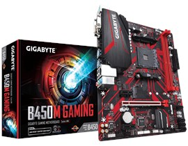 Gigabyte B450M GAMING AMD Socket AM4 Motherboard