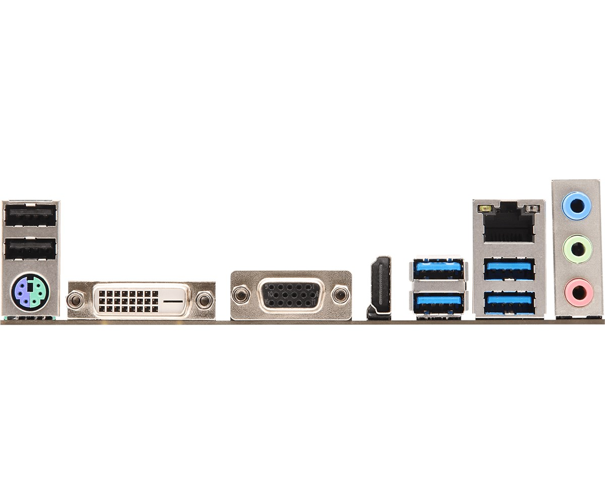 ASRock B450M-HDV mATX Motherboard for AMD AM4 CPUs