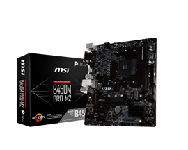 MSI B450M PRO-M2 AMD Socket AM4 Motherboard