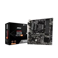 MSI B450M PRO-VDH MAX mATX Motherboard for AMD AM4 CPUs