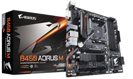 Gigabyte B450 AORUS M AMD Socket AM4 Motherboard