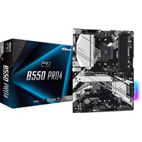 ASRock B550 Pro4 ATX Motherboard for AMD AM4 CPUs