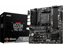 MSI B550M PRO-VDH AMD Socket AM4 Motherboard
