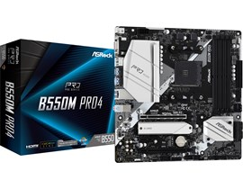 ASRock B550M Pro4 AMD Socket AM4 Motherboard