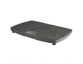 StarTech.com Balance Board For Standing Desk With Soft Carpeted Surface