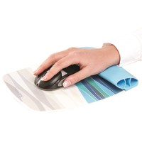 Fellowes Silicone Wrist Rocker - Ocean Pattern