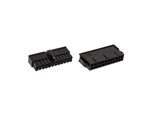 BitFenix Alchemy 2.0 PSU 20+4 Pin ATX Connector Pack - Black