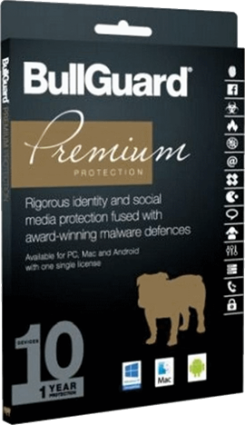 Bullguard Premium Protection 2017 - 10 User Multi Device License for 1 Year