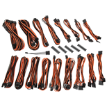 BitFenix Alchemy 2.0 PSU Cable Kit EVG-Series - Black & Orange