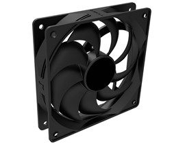Generic 120mm Chassis Fan in Black with 4-pin Molex Connector