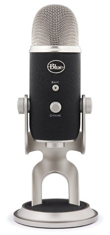 Blue Microphones Yeti Pro USB Microphone (Silver/Black)