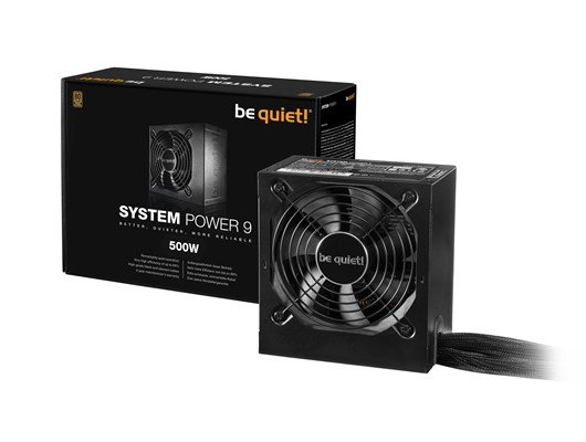 be quiet! System Power 9 (500W) Power Supply 80 Plus Bronze *Open Box*