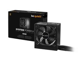 Be Quiet! System Power 9 600W 80+ Bronze PSU